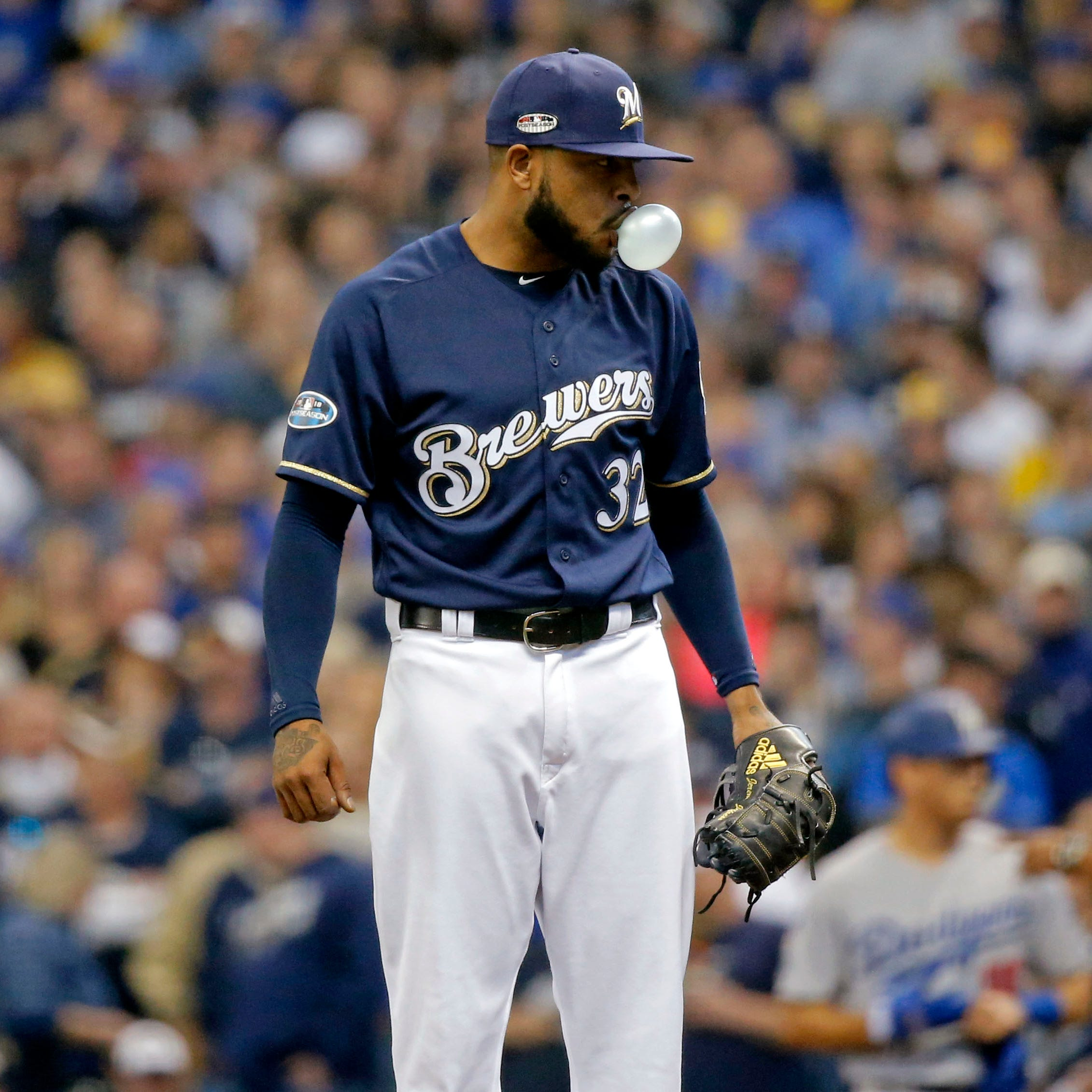 Notes: Jeremy Jeffress attempts to clarify 'lucky' comments following Game 2 loss