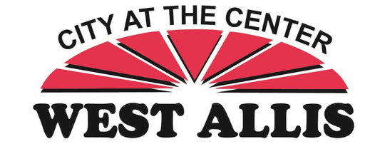 The previous West Allis logo proclaimed West Allis as the city at the center.