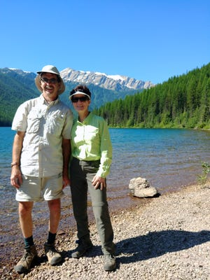 Dave and Renee Pauly of New Berlin visit Dickey Lake in the Great Bear Wilderness of Montana.