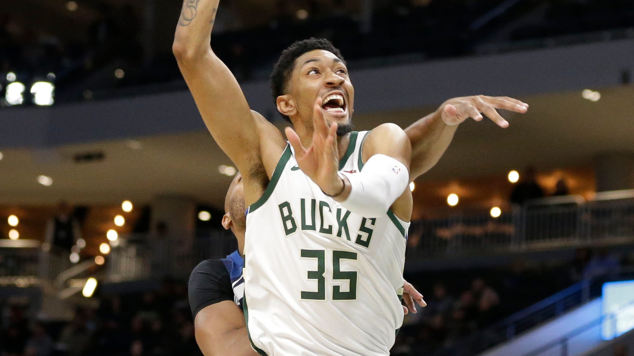 Christian Wood makes roster; Bucks acquire second-round pick in trade