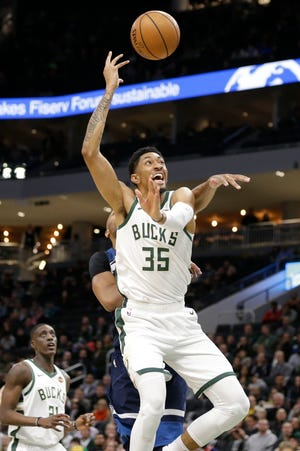 Christian Wood claimed the final roster spot on the Bucks thanks to a strong showing this summer and during the exhibition season.