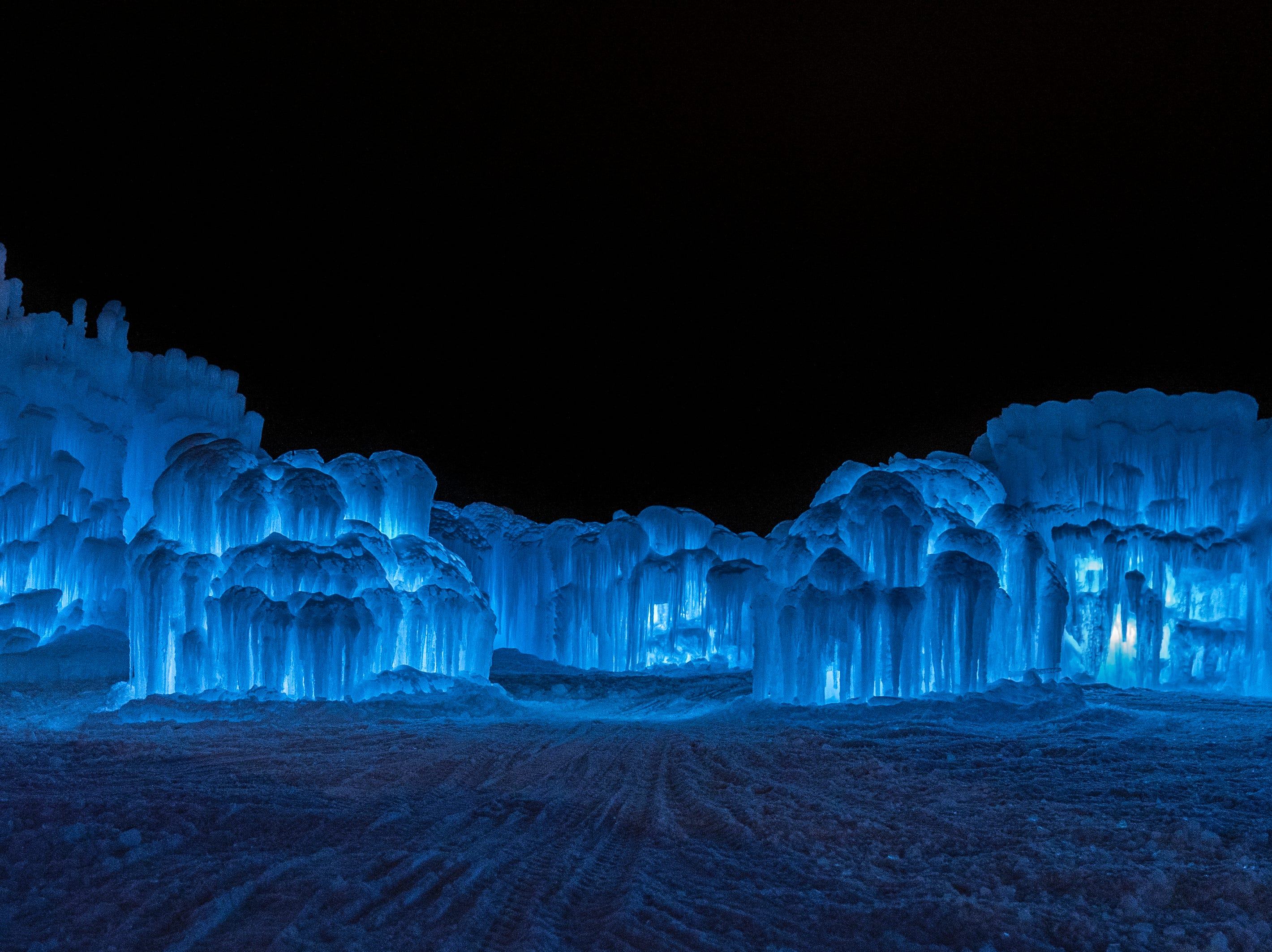 Ice Castles are created by a Utah-based entertainment company at locations around the U.S. and Canada, including in Lake Geneva the winter of 2018-2019.