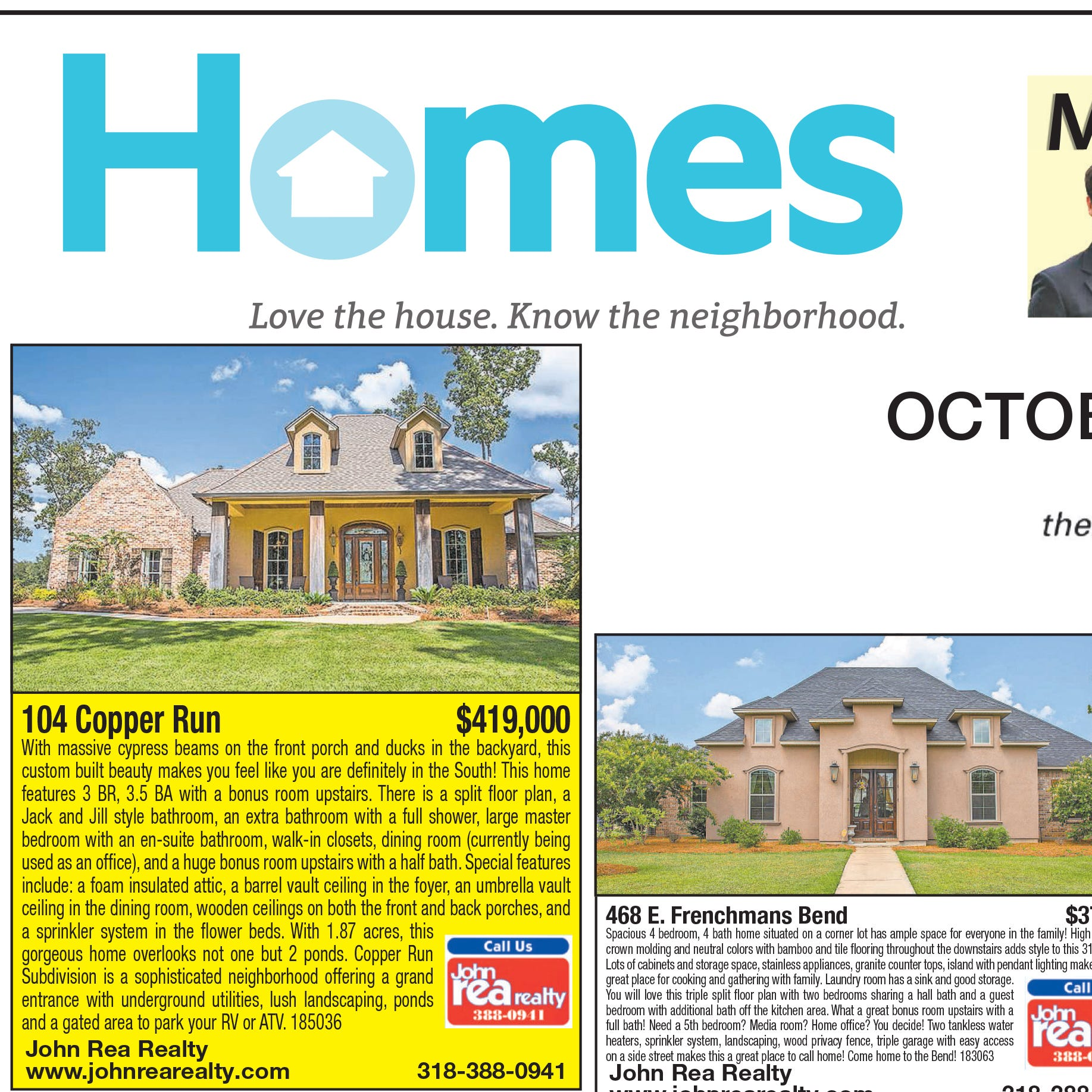 Homefinder: Oct. 14, 2018