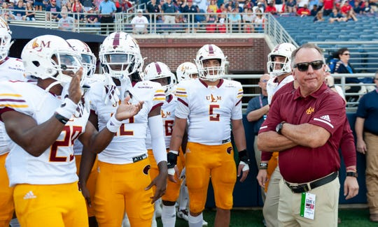 ULM canceled the remainder of spring football practice due to concerns over the growing coronavirus (COVID-19) pandemic.