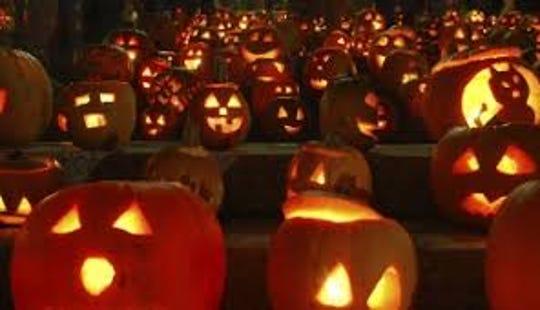 Pumpkin illumination.