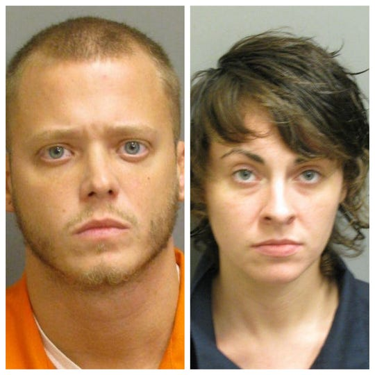 Mitchell Call and Abigail Peace were charged with murder in the September stabbing death of Darrell Rudolph.
