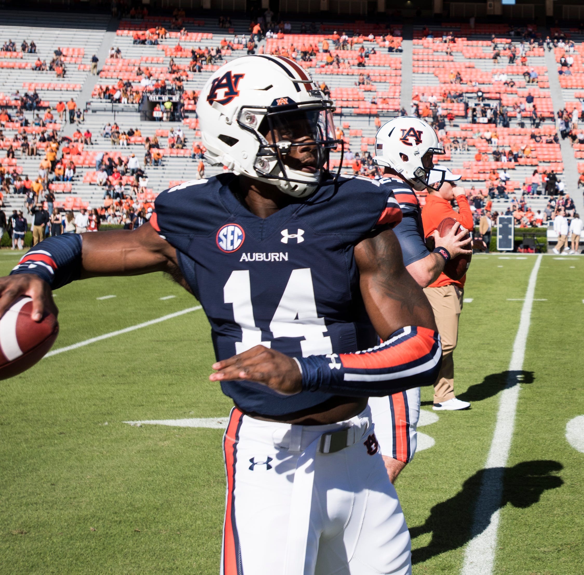 Auburn's starting quarterback next year? It won't be Malik Willis