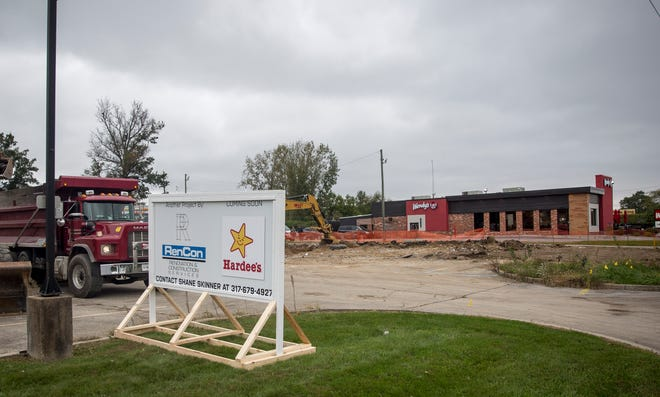 The new location for Hardee's at 227 E. McGalliard Road is beginning construction. According to officials the fast food chain should be ready to open in the middle of January, likely two weeks into the new year.