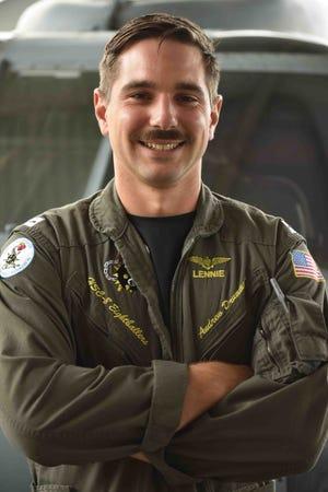 Lt. Andrew Drummond, Navy pilot and Yorktown native