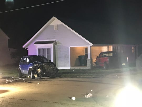 Muncie police on Sunday night were investigating a traffic accident at Highland Avenue and Elgin Street. Authorities said after a teenager was ejected from the SUV, the vehicle flipped onto its side on top of her. Citizens pushed the vehicle back onto its wheels.