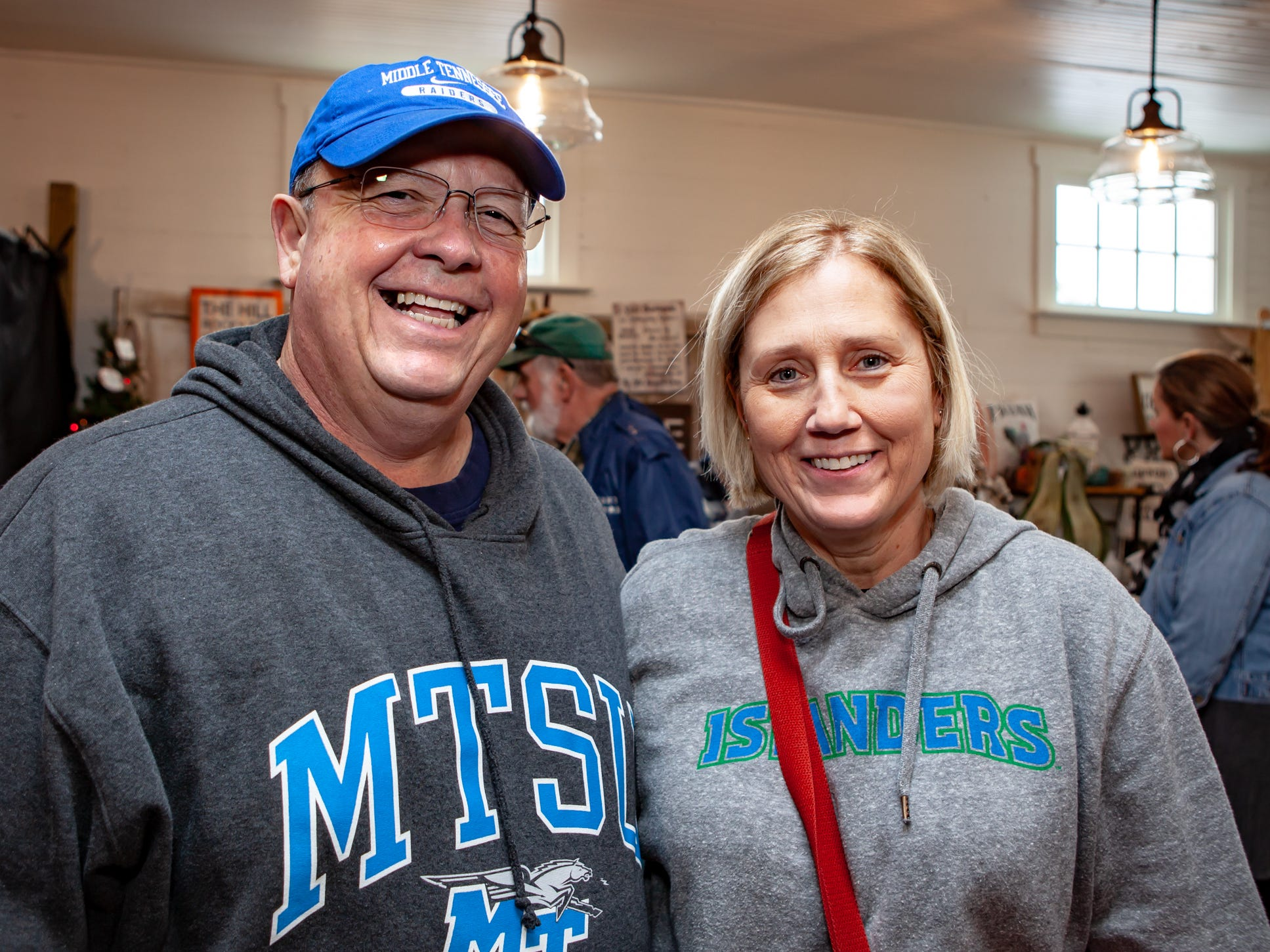 Dr. Bud and Anita Fischer at The Gathering at Milton's fall market and craft fair on Saturday, Oct. 13, 2018.