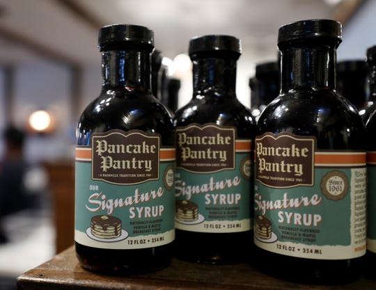 The Pancake Pantry's popular syrup is now for sale by the bottle.