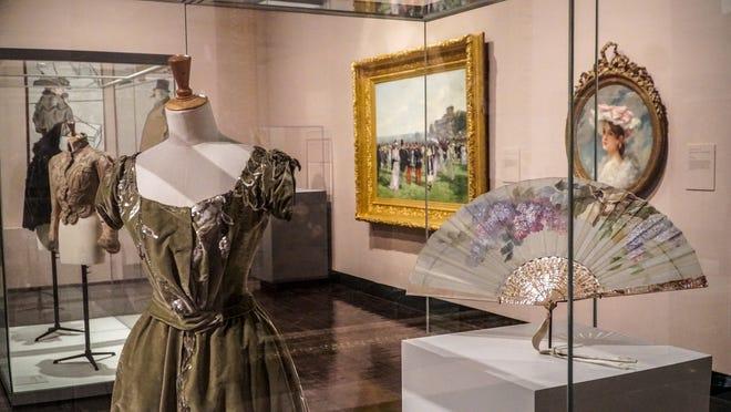 """Part of the """"Paris 1900: City of Entertainment"""" exhibit at Frist Art Museum. Oct. 12-Jan. 6"""