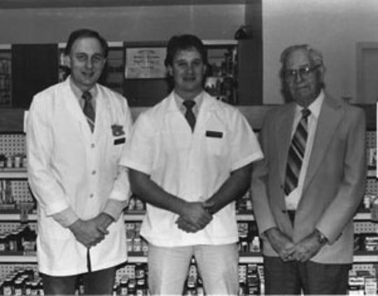 Joe Empson, Craig Empson and Julian Empson ran Ashland City's Empson Drug Company for 72 years.