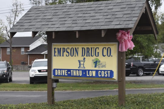 Empson Drug Company, located at 212 North Main Street, will close after 72 years in business on Wednesday, Oct. 17.