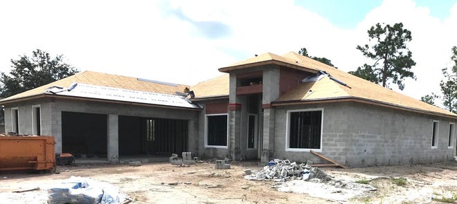 This home is underway at 2160 Randall Blvd. by Nova Homes of South Florida.