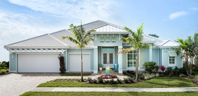 McGarvey Custom Homes' High Tide model in Naples Reserve is priced at $1.295 million.