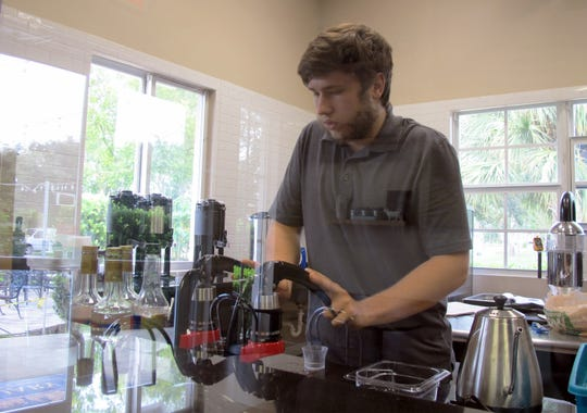 Seth Trees opened The Coffee Snob this month in Sanctuary RV Resort on the north side of Bonita Beach Road east of Interstate 75.
