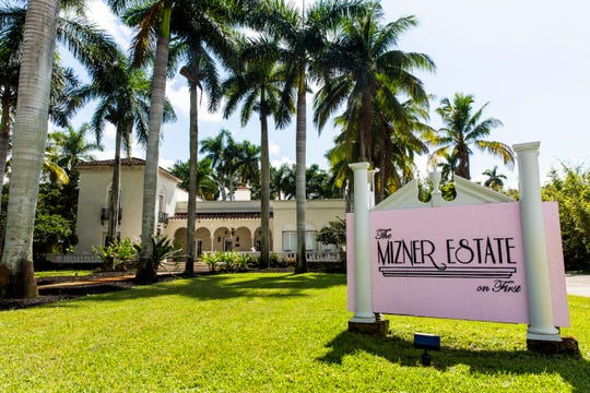 The Mizner Estate in Fort Myers, as seen on Friday, Oct. 12, 2018. Host Doreen Lehner offers five rooms to rent on the historic property, including an Asian suite, an industrial modern suite and a renovated horse trailer.