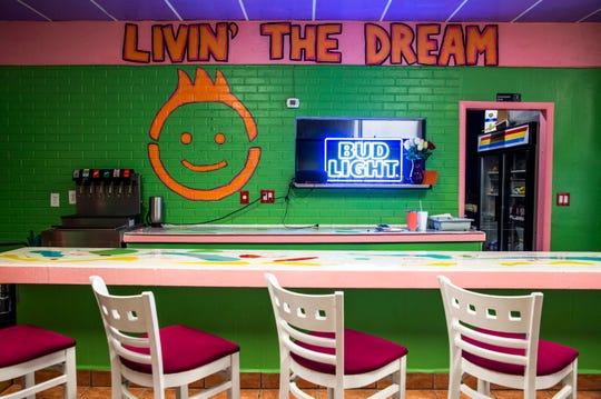 Inside the new restaurant FK Your Diet in Fort Myers, as seen on Friday, Oct. 12, 2018. The FK in the title stands for foster kids and five percent of their revenue will be donated to organizations that help foster kids.