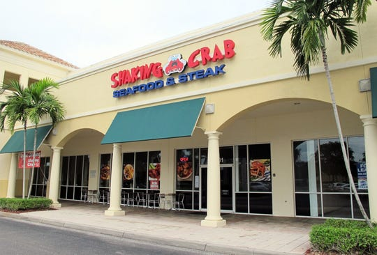 Cajun-style seafood dominates the menu for the new Shaking Crab restaurant and bar in The Prado at Spring Creek retail center off U.S. 41. in Bonita Springs.