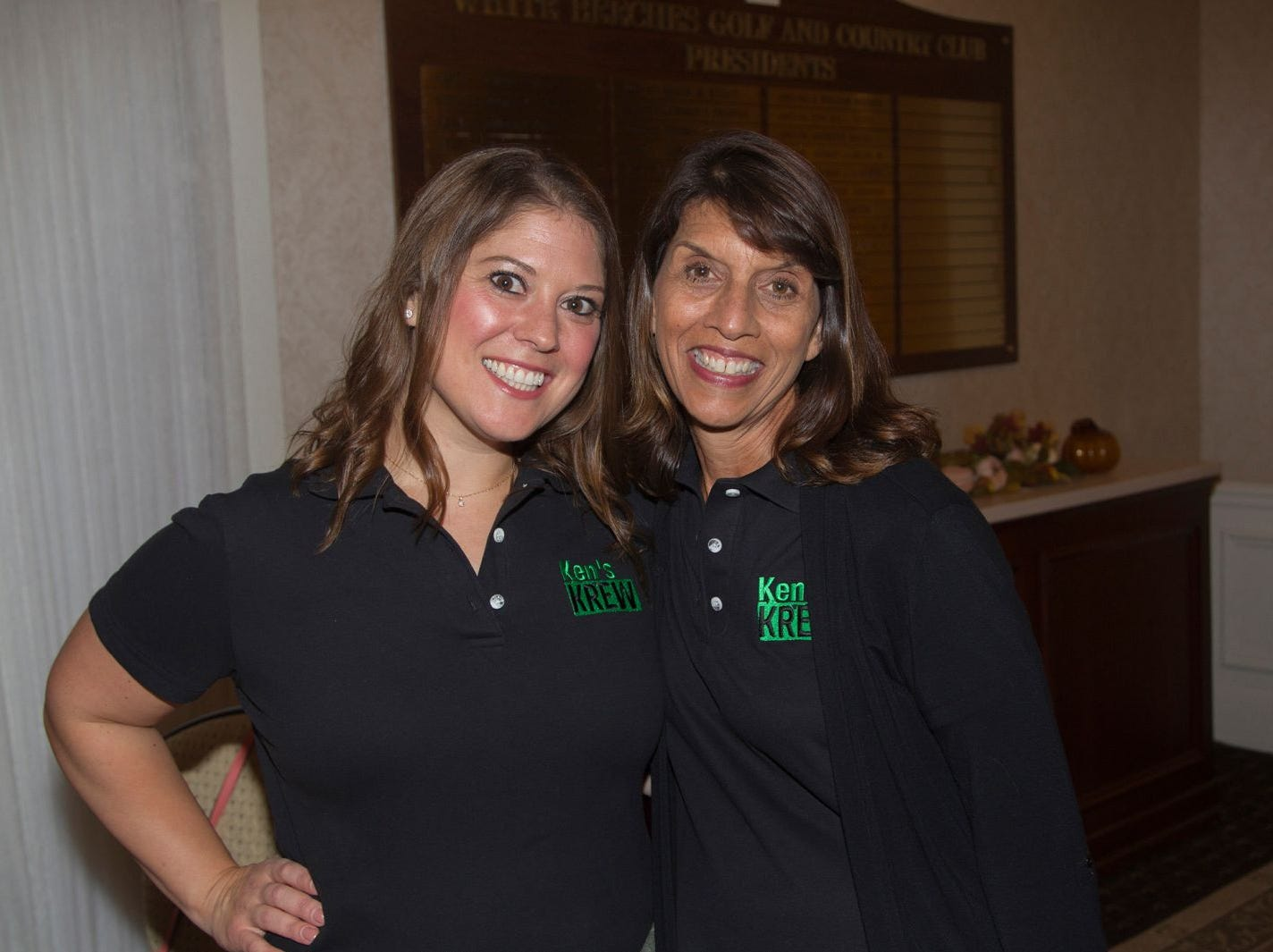 Jailynn Worster and Diane Macaluso. Ken's Krew Golf Outing at White Beeches Country Club in Haworth. Ken's Krew provides vocational training and job placement services for young adults with intellectual and developmental disabilities. 10/09/2018