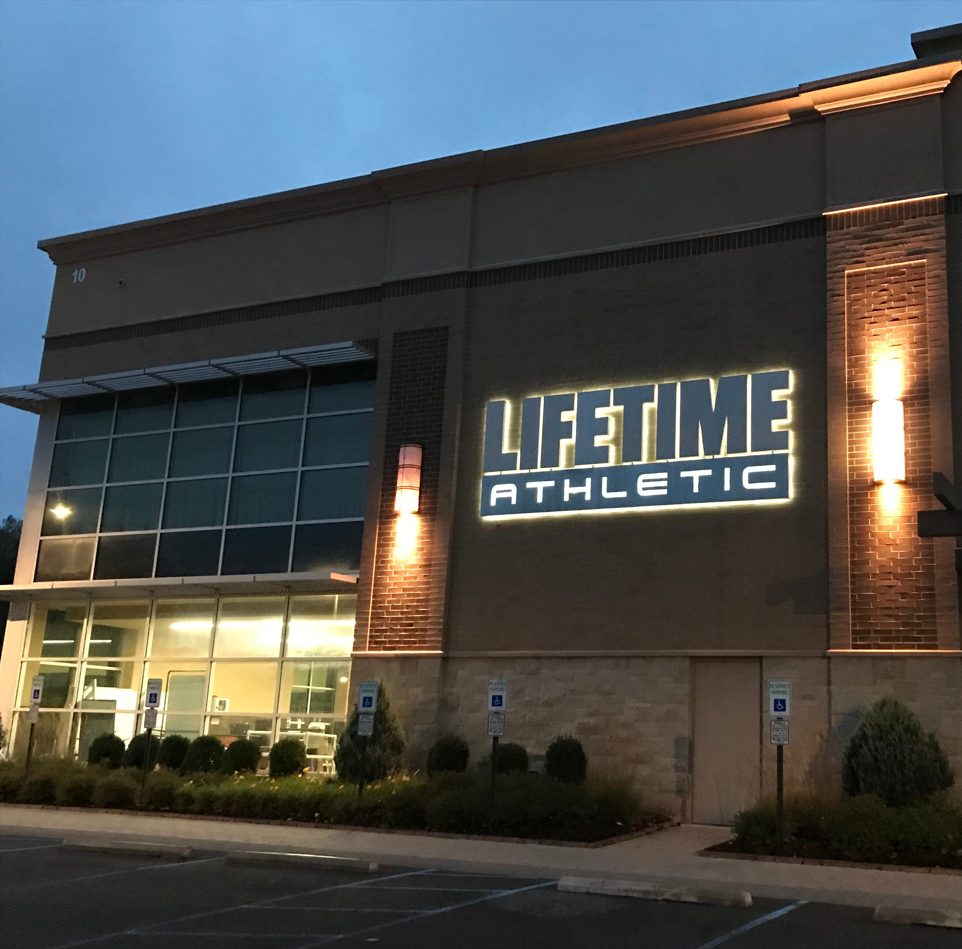 Life Time gym, parking garage shot down by Middletown, but could come back