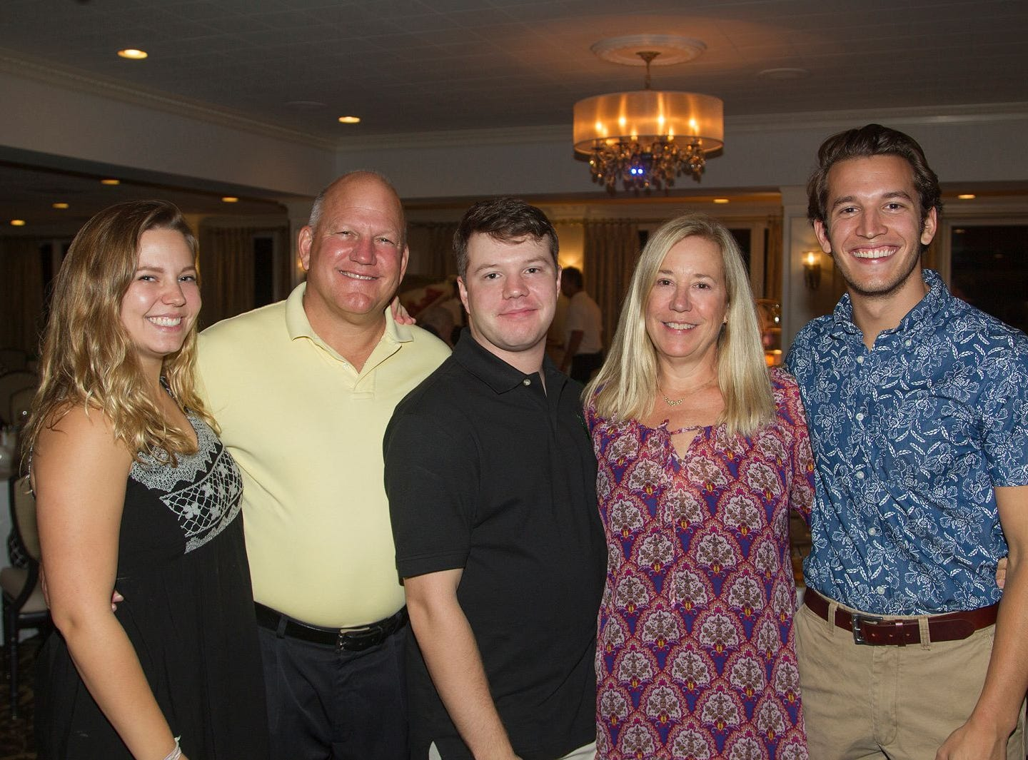 Kuiken Family.  Emily, Lou, Daniel, Julie, Chris. Ken's Krew Golf Outing at White Beeches Country Club in Haworth. Ken's Krew provides vocational training and job placement services for young adults with intellectual and developmental disabilities. 10/09/2018