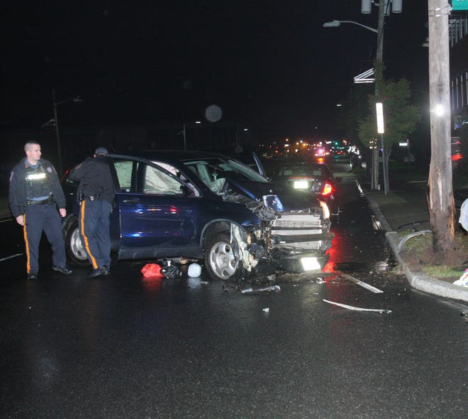 56-year-old Andres Del Carmen-Ramirez crashed his SUV with two passengers inside at 5:09 Monday morning in Fair Lawn.