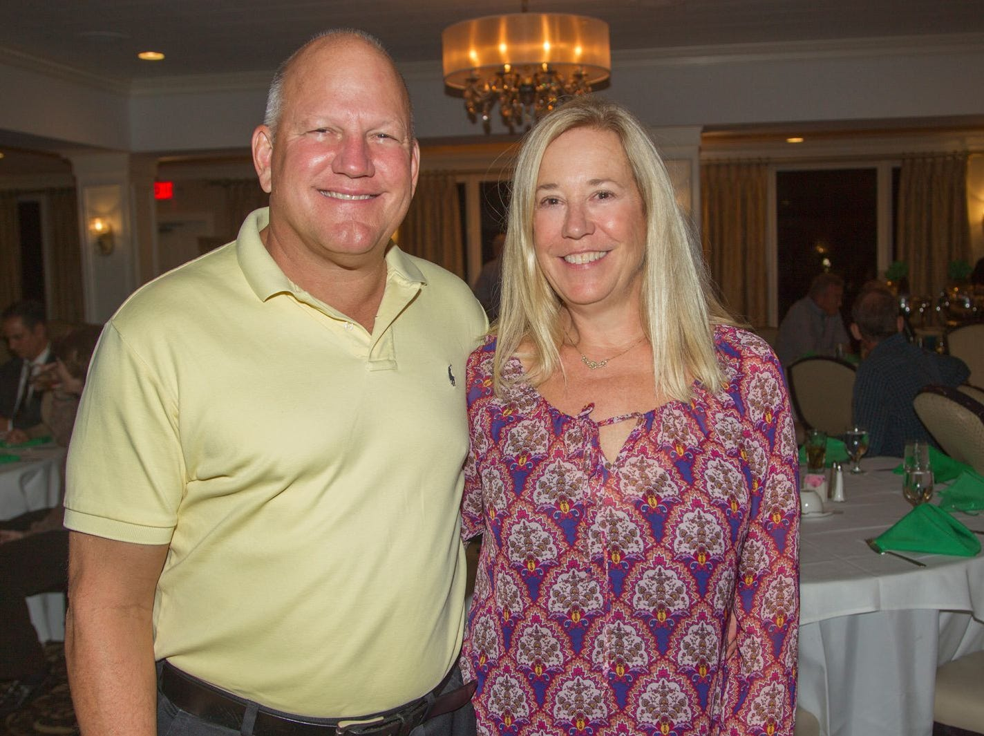 Lou and Julie Kuiken. Ken's Krew Golf Outing at White Beeches Country Club in Haworth. Ken's Krew provides vocational training and job placement services for young adults with intellectual and developmental disabilities. 10/09/2018