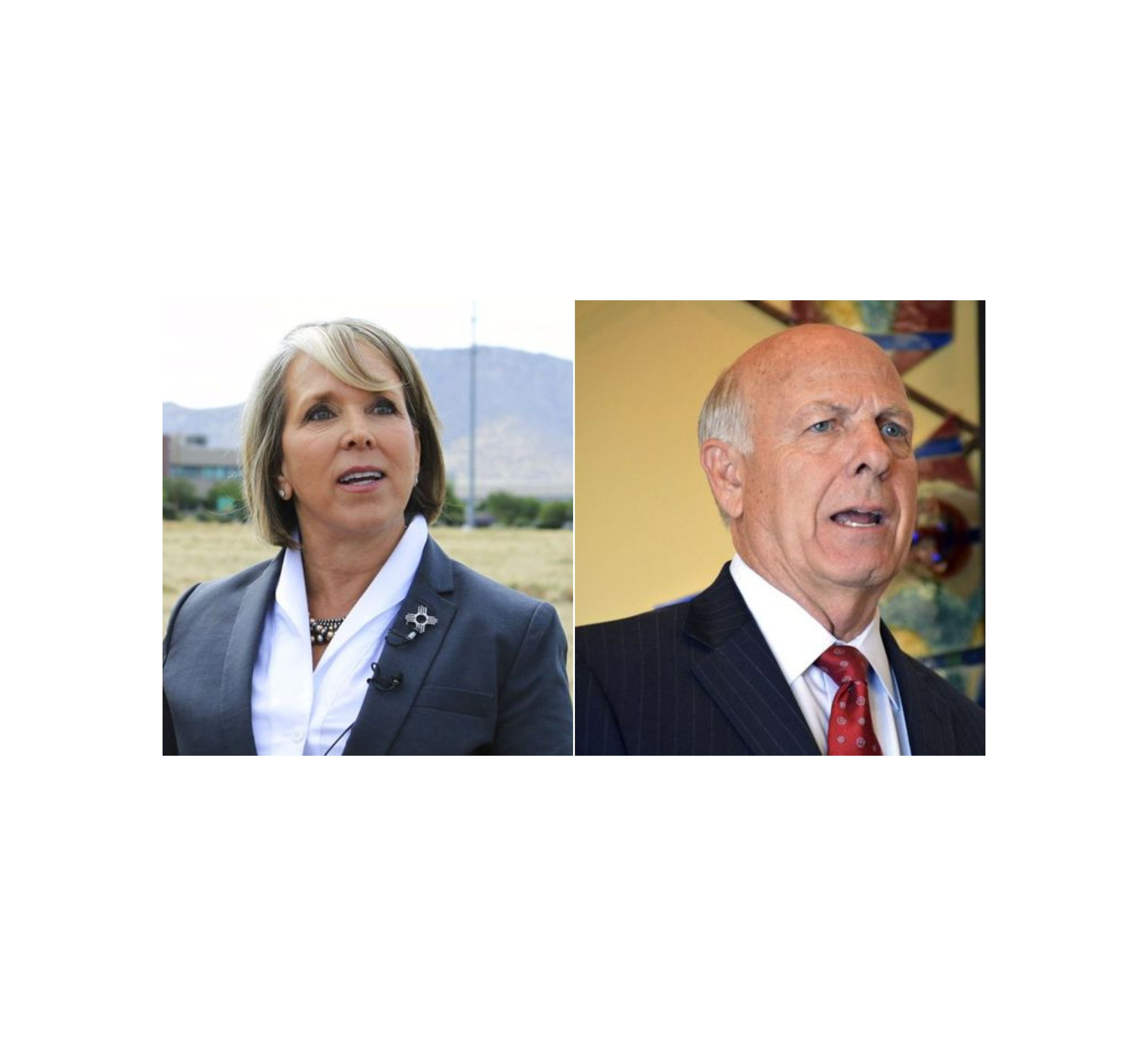 Michelle Lujan Grisham and Steve Pearce clash during debate | Las Cruces Sun