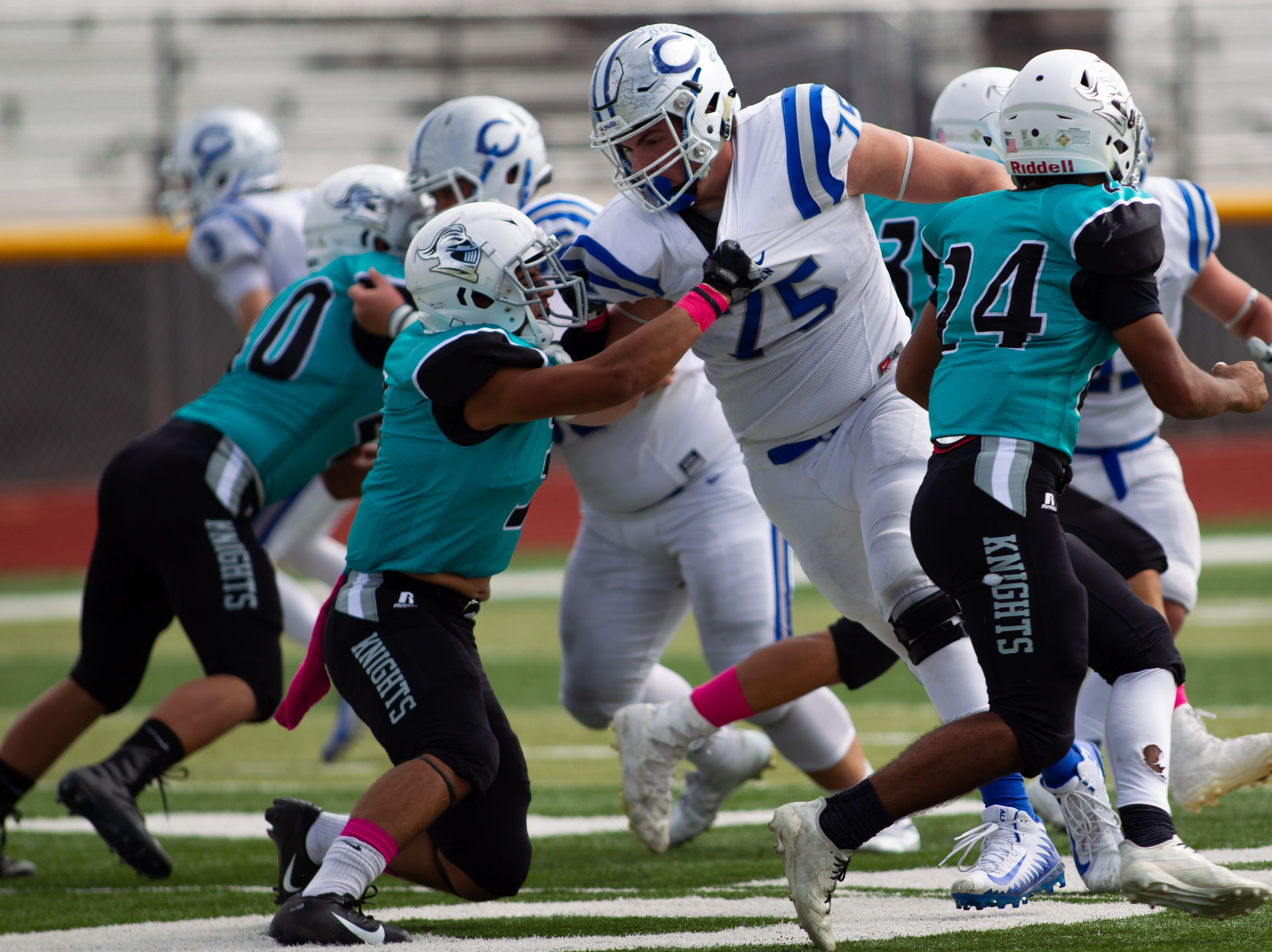 Familiar faces show up as Carlsbad dominates Oñate