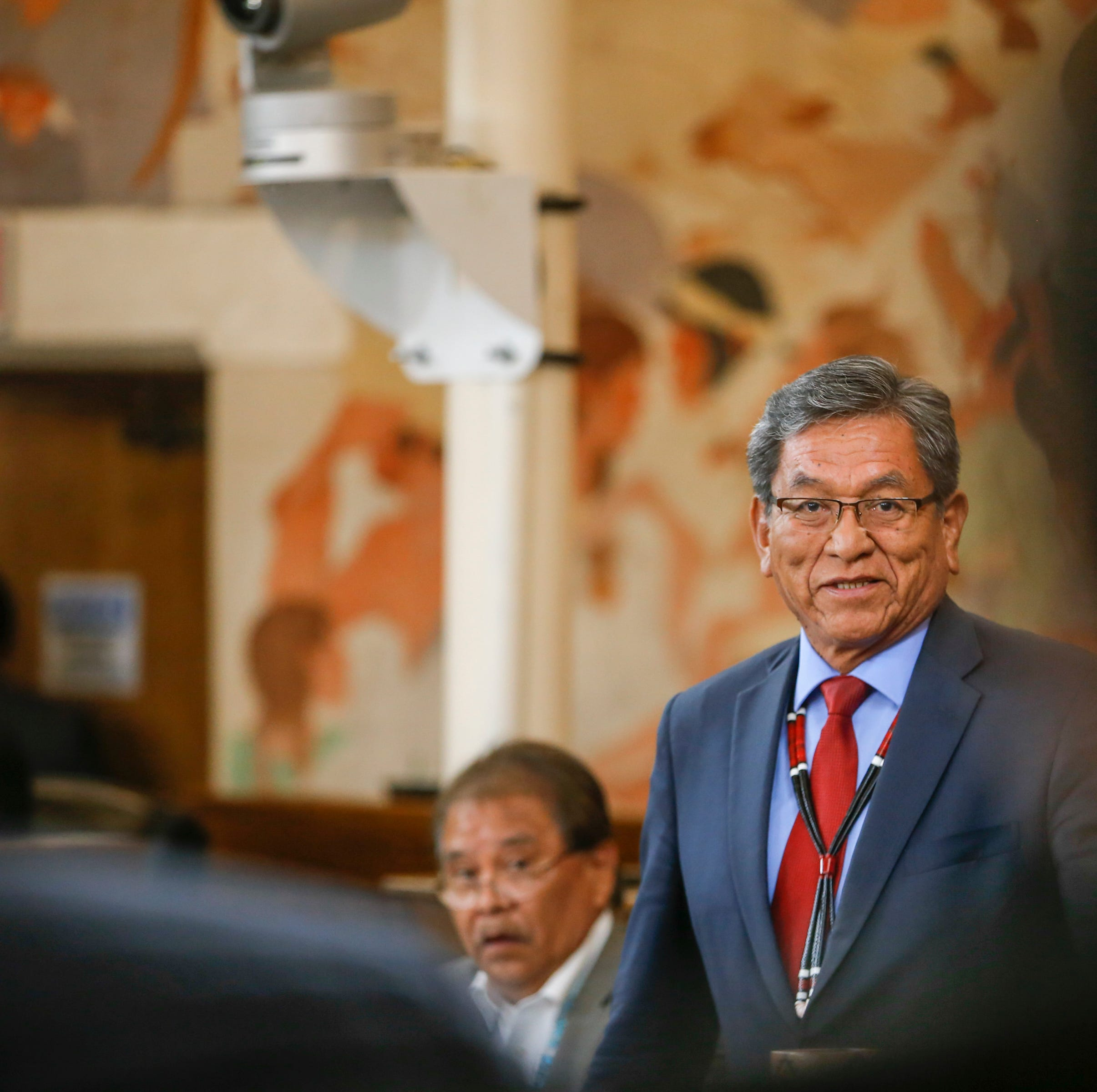 Begaye delivers last State of the Nation address to Navajo Nation Council