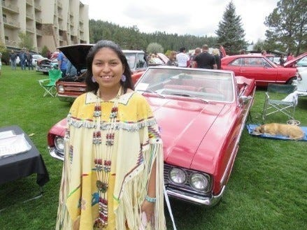The  car show Aspenfest weekend was staged at the inn of the Mountain Gods, owned by the Mescalero Apache on the reservation that adjoins Ruidoso.