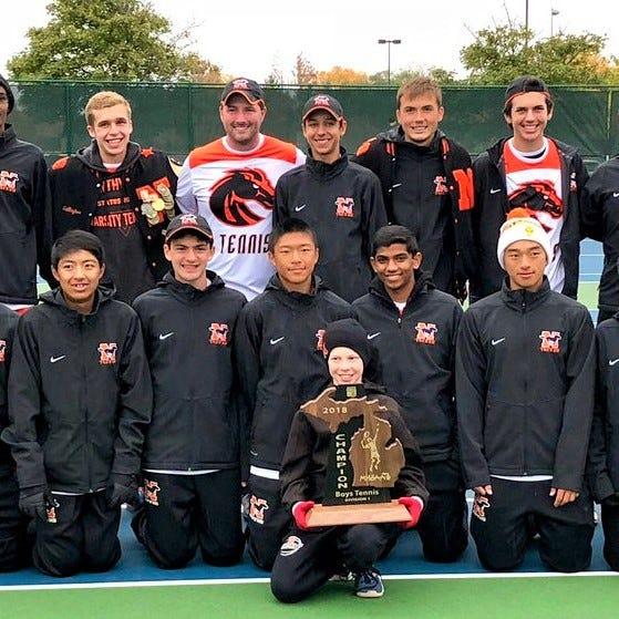 Northville seizes first Division 1 regional boys tennis title since 1995