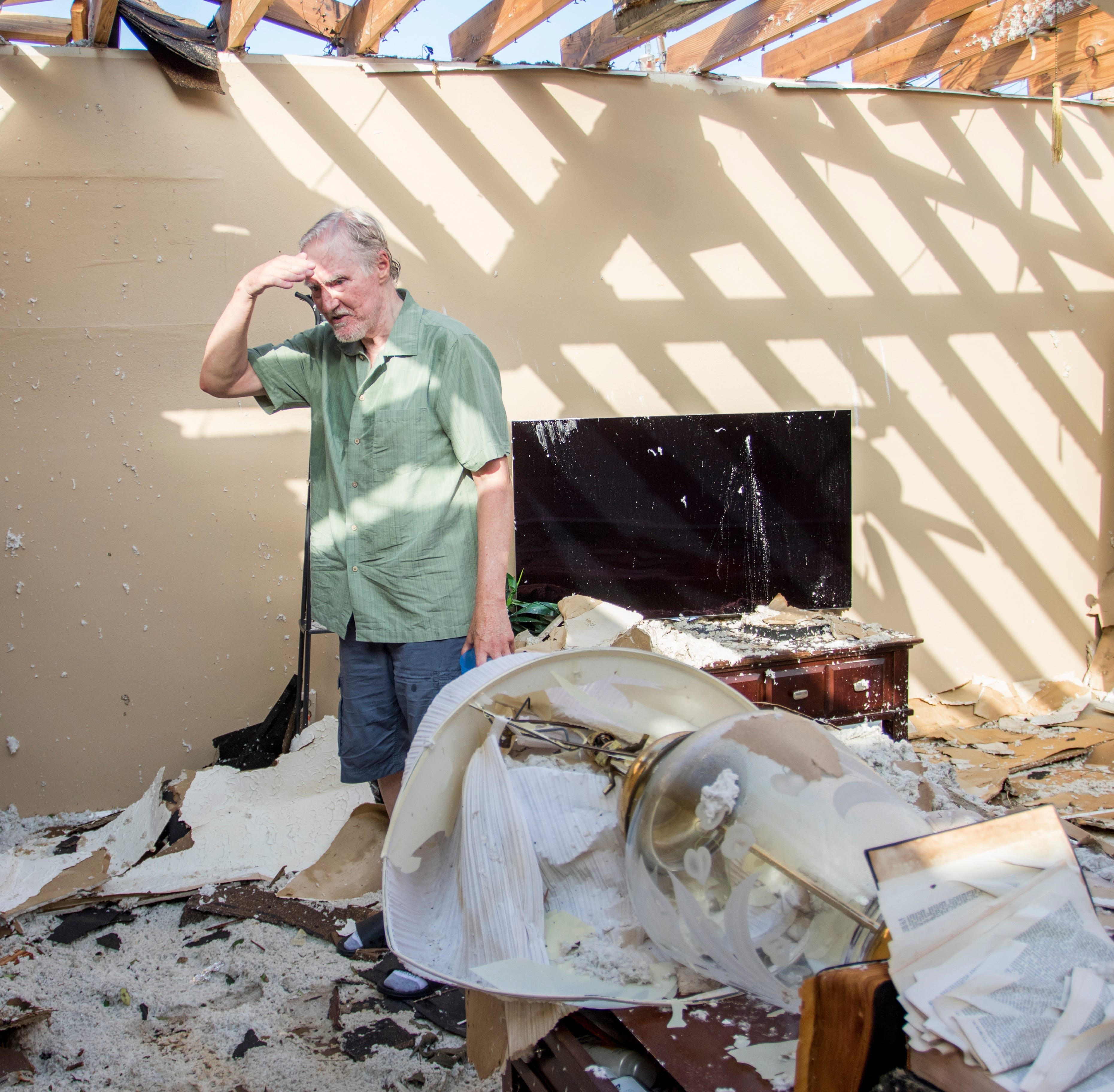 Panama City retirees leave shelter Monday only to find house destroyed