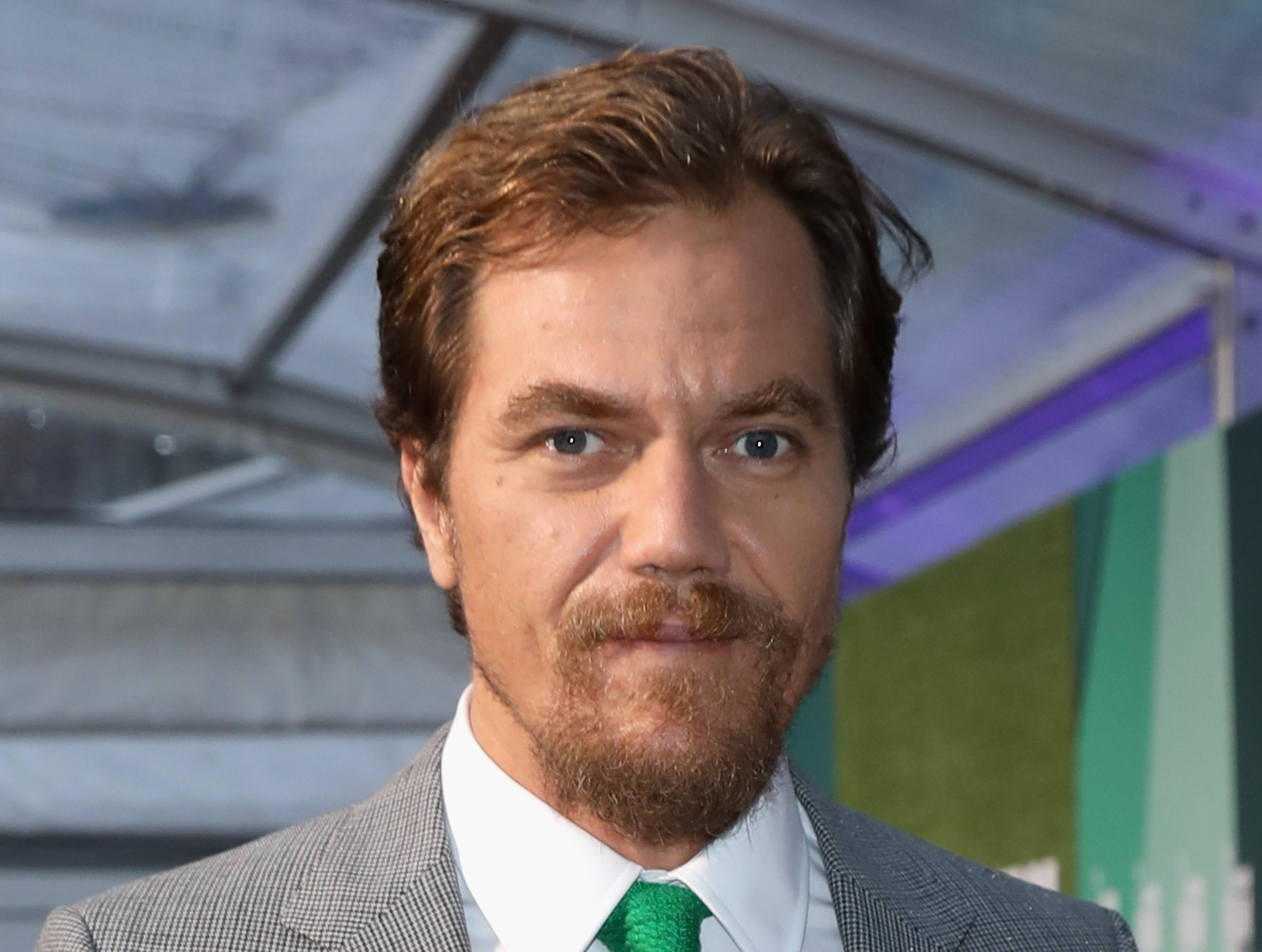 "Michael Shannon attends the World Premiere of ""The Little Drummer Girl"" on Oct. 14, 2018, in London."
