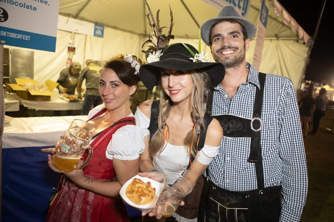Thousands Of People Packed Tempe Beach Park For Four Peaks Oktoberfest On Friday Oct