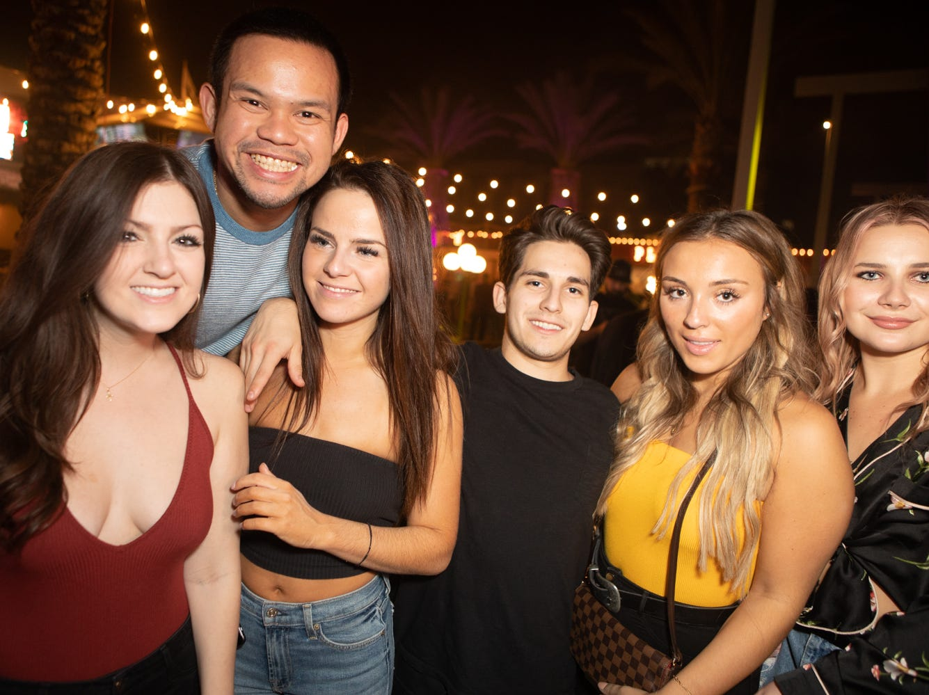 EDM DJ A-Trak had fans dancing inside while partygoers outside enjoyed games and fun at Maya on Friday, Oct. 12, 2018 in Scottsdale.
