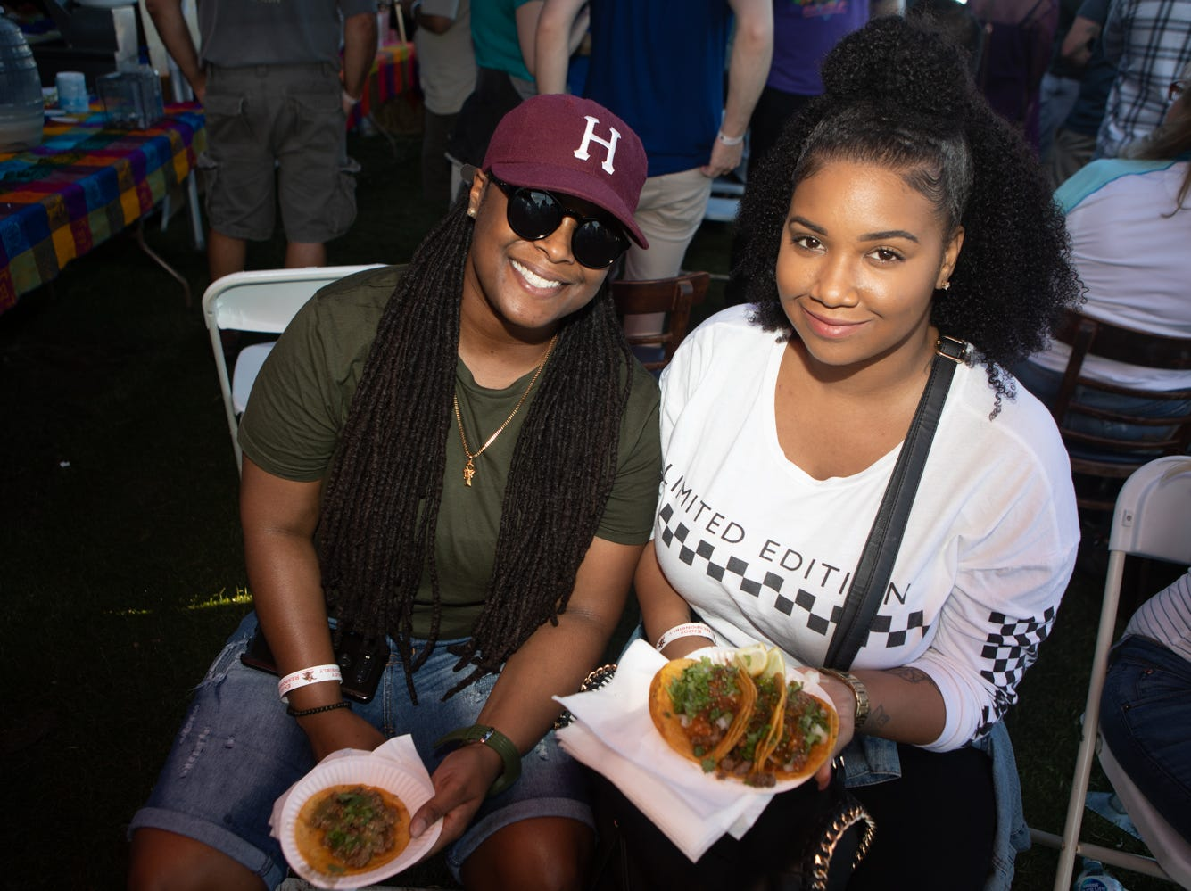 Taco enthusiasts had no problems finding tasty options at the Arizona Taco Festival at Salt River Fields on Sunday, Oct. 14, 2018 in Scottsdale.