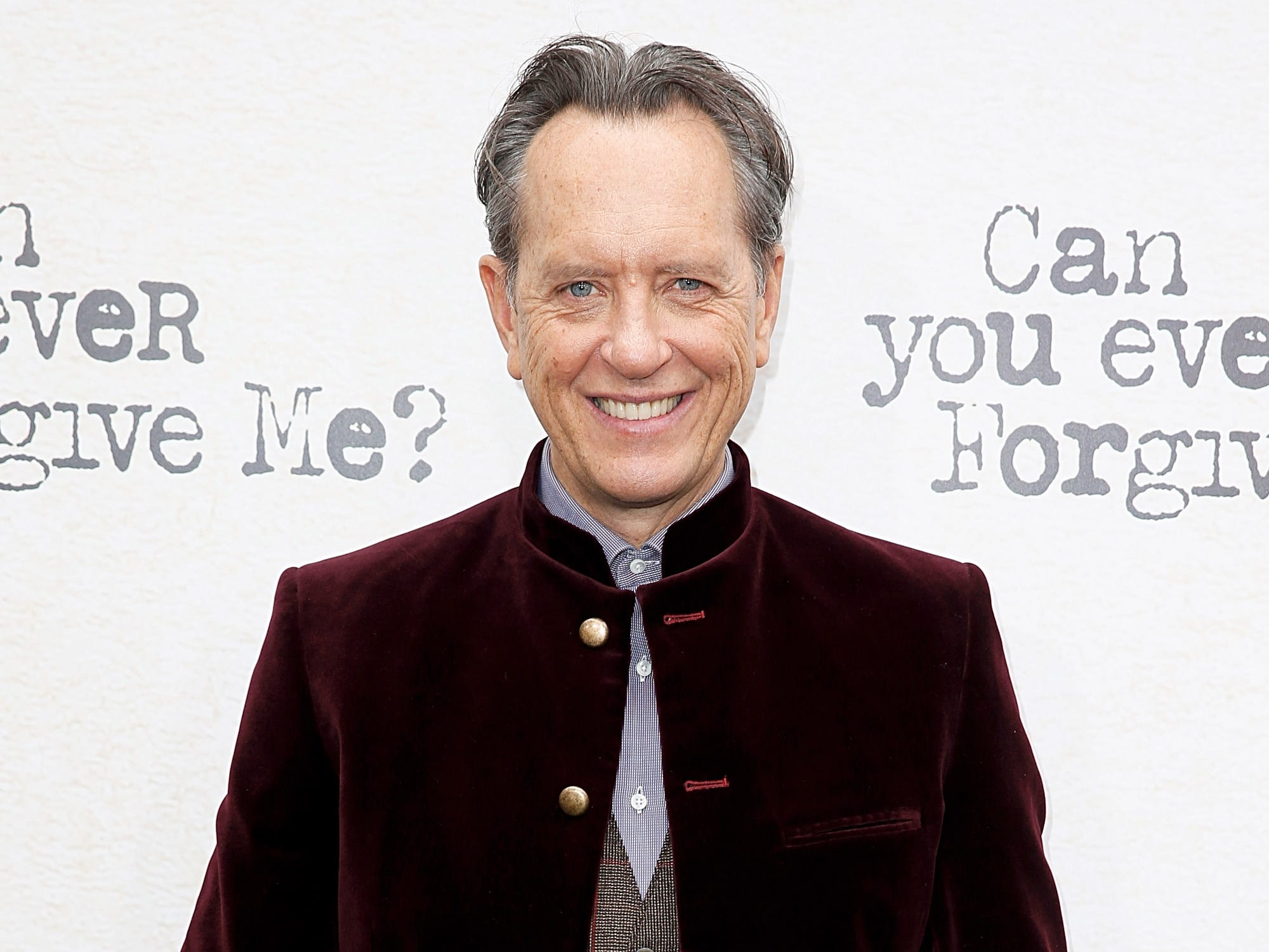 "Richard E. Grant attends the ""Can You Ever Forgive Me?"" New York premiere at SVA Theater on Oct. 14, 2018, in New York City."