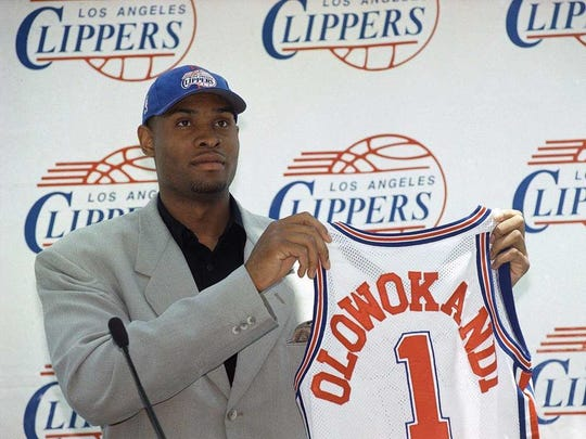 Michael Olowokandi was taken first overall in the 1998 draft over Dirk Nowitzki, Paul Pierce and Vince Carter.