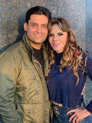 Lucía, orgullosa de su hijo Pedro Antonio.