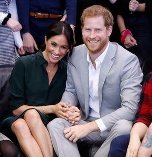 El príncipe Enrique y su esposa, la duquesa de Sussex.