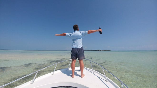 Mark Gardner is living the dream of constant sunshine and blue waters in the Florida Keys.