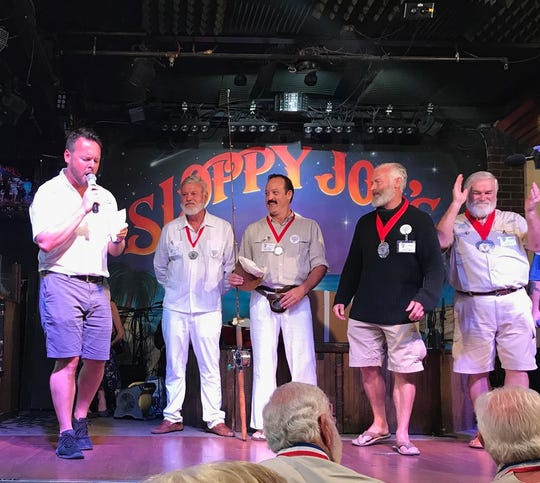 Mark Gardner hosts the annual Hemingway lookalike contest at Sloppy Joe's in Key West. Sloppy Joe's is well-known in Northwest Ohio for its annual Put-in-Bay Days which draws hundreds of Ohioans each February.