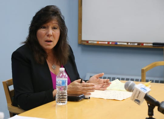 State Senator Sue Serino, R-Hyde Park at the Poughkeepsie Journal  on October 12, 2018.