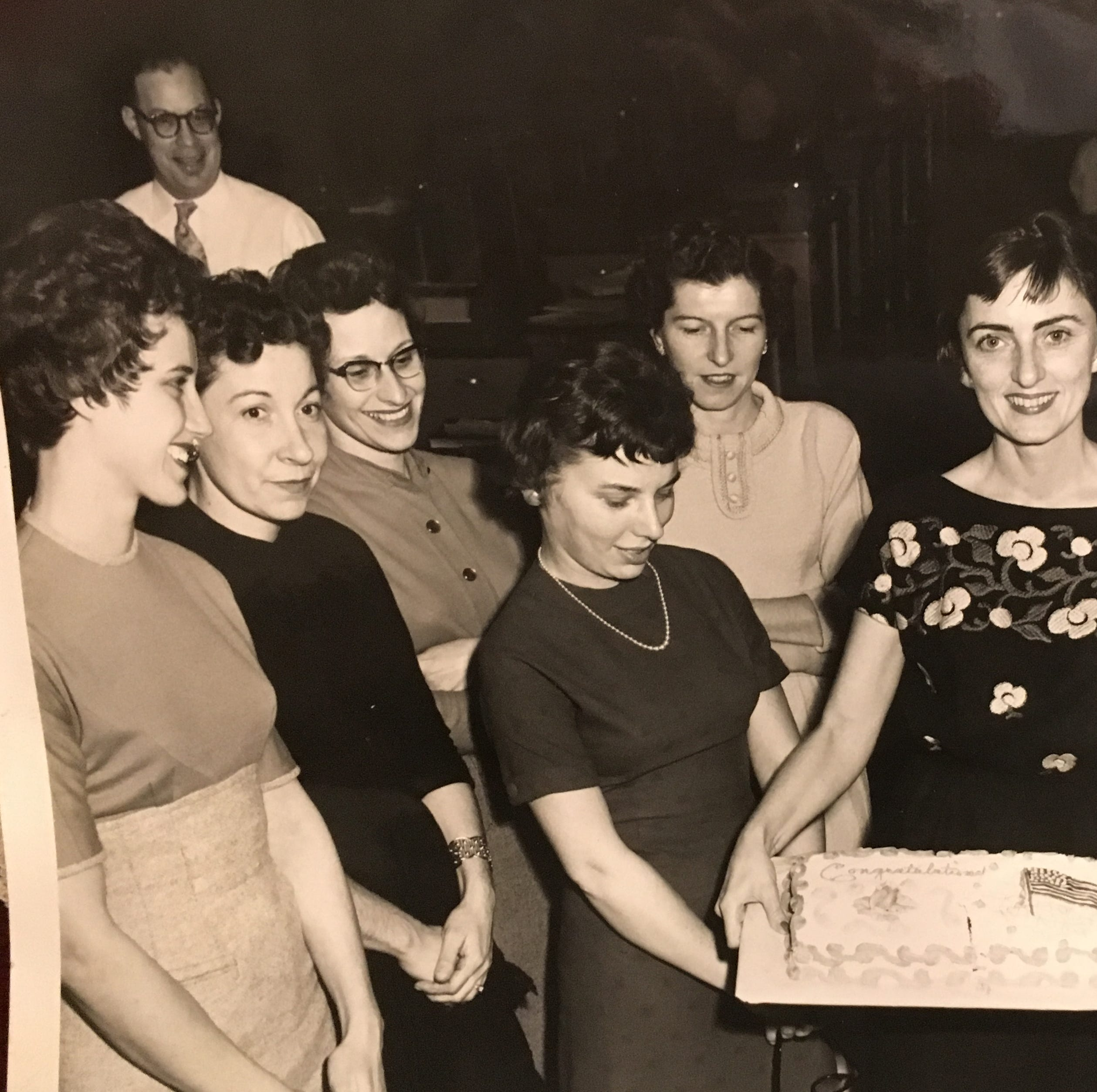 She came to America from Germany in the 1950s, and found a home at the York YWCA