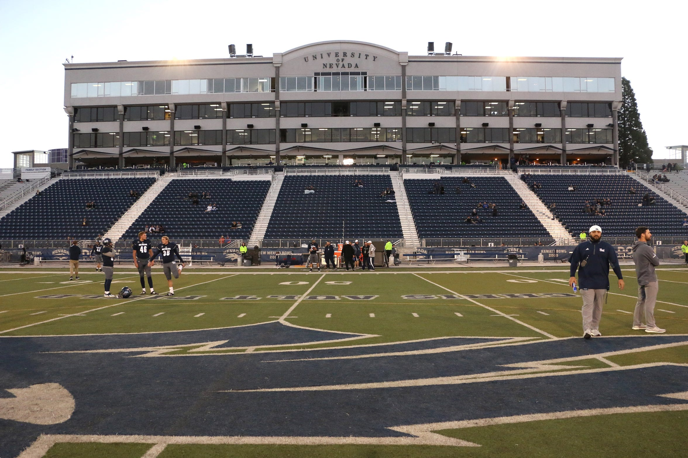 Mackay Stadium in Reno on Oct. 13, 2018.