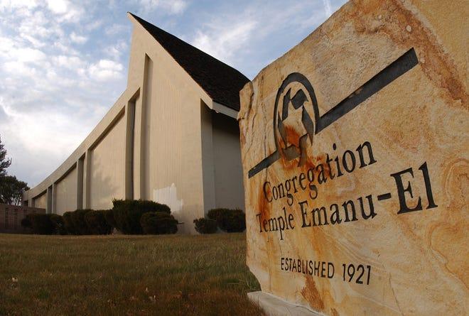 A 2014 file photo of Temple Emanu-el.